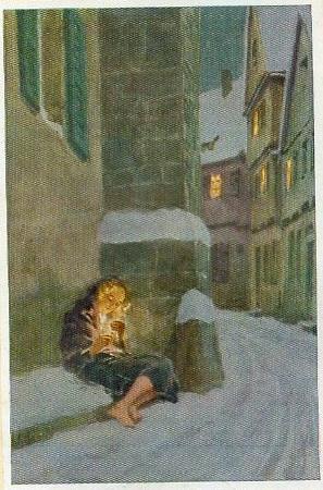 Das Mädchen mit dem Schwefelhölzchen