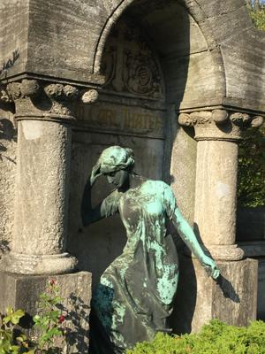 Friedhofsimpressionen Berlin 15.10.2017